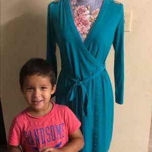 Calvin Klein classic wrap dress size 4